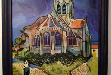 L'Eglise d'Auvers sur Oise de Vincent Van Gogh