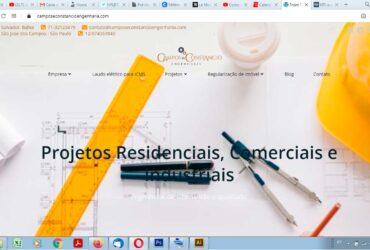 Création de site internet réactif institutionnel avec cinq pages