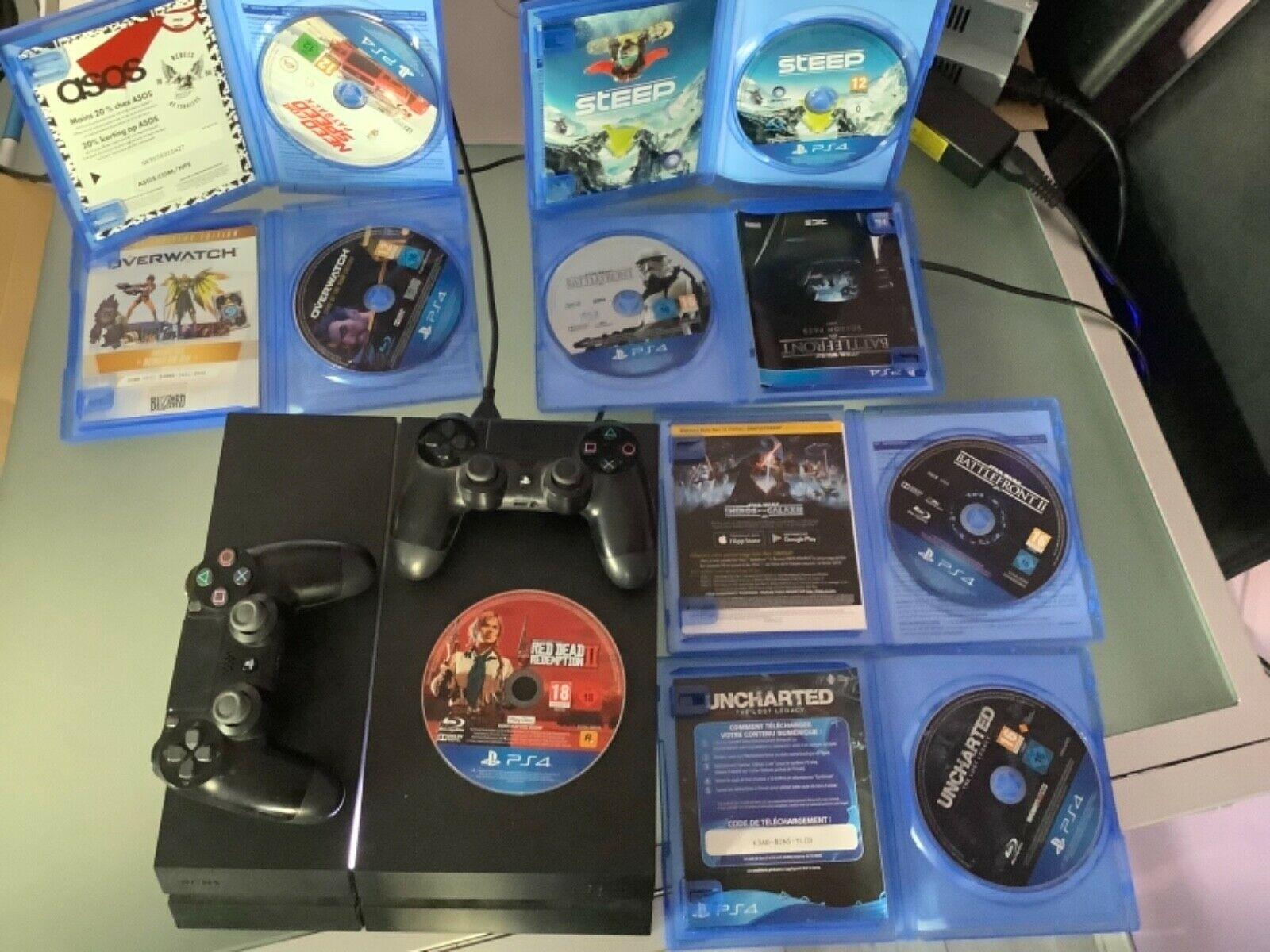 Sony PlayStation 4/1To/2 DualShock/7jeux